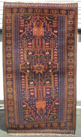 Taimani Baluch Medallion Rug Carpet