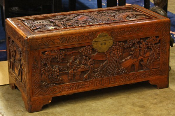 chinese wooden chest 1