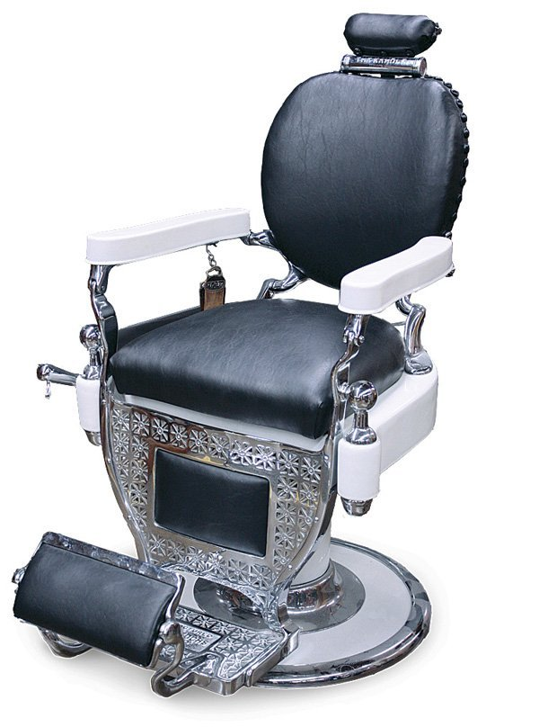 ... Koch Barber Chair Headrest By 2651 Theo A Kochs Company Of Chicago Barber  Chair Lot 2651 ...
