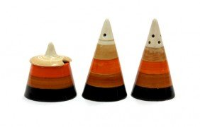 Clarice Cliff Cruet Set