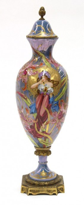 Sevres Covered Urn