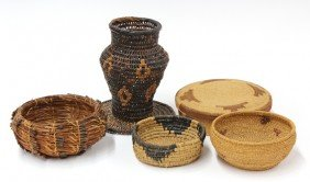 Native American Arts & Crafts Baskets