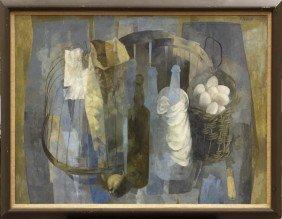 Painting, Stanley Mitruk, Birdcage