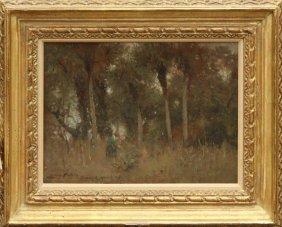 Painting, Lewis Cohen, Ormond France