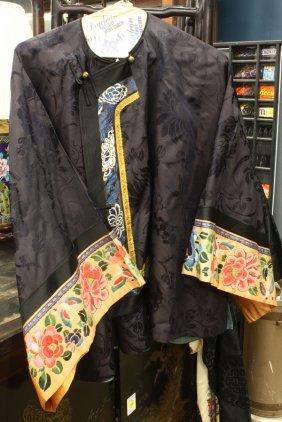 Three Chinese Silk Robes
