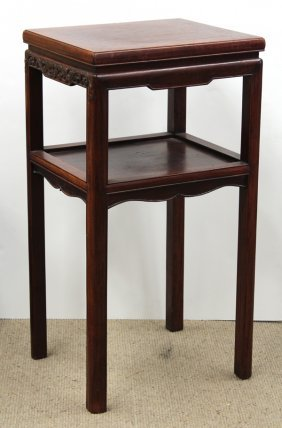 Chinese Tiered Hardwood Stand