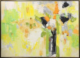 Painting, Abstract, Signed ''Reike''