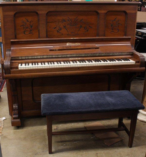 721 Ellington Cabinet Grand Upright Piano Lot 721