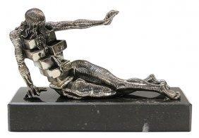 sculpture salvador dali le cabinet anthropomorphique lot 6365