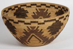 Yokuts Polychrome Decorated Bowl