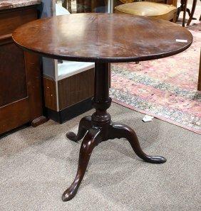 Queen Anne Tilt Top Tea Table