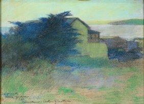 Pastel, Arthur Frank Mathews