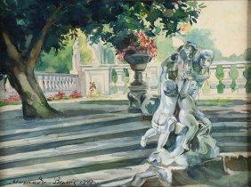 Watercolor, Alexandre Benois