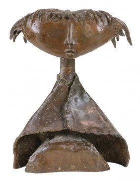 Bronze Sculpture, Angel Botello