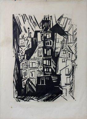 Print, Lyonel Feininger