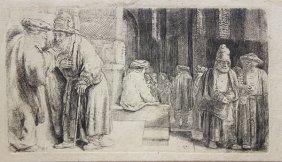 Print, Rembrandt Van Rijn