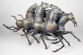 Bronze Sculpture, Tiefeng Jiang