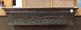 Italian Baroque Style Carved Oak Wall Bracket