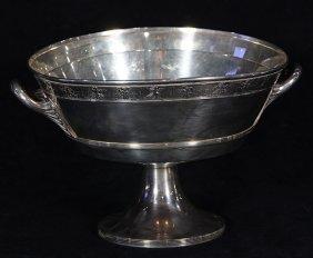 American Gorham Sterling Silver Pedestal Center Bowl