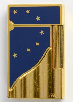 S.t. Paris France Europa Lighter Limited Edition 1993