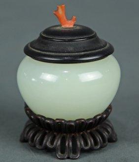 Chinese Jade Brush Washer