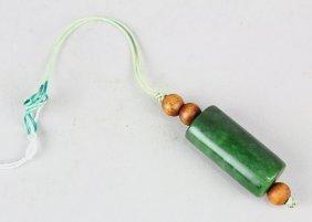 Chinese Nephrite Jade Toggle