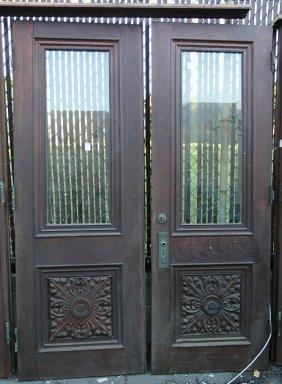 Victorian Oak Entryway