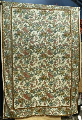 Continental Style Floral Tapestry
