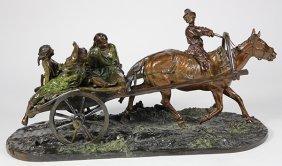 Bronze Sculpture, Evgeny Lansere