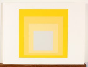 Print, Josef Albers, Homage To The Square
