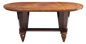 Art Deco Style Rosewood Center Table After Jules Leleu