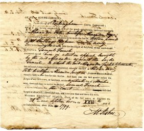 [north Carolina] Montfort Stokes (1762-1842)