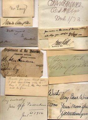 11 Misc. Autographs
