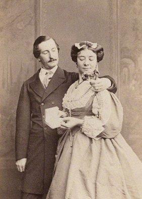 Theatre - Mrs Howard Paul 1833-1879