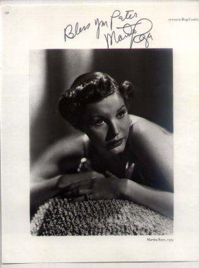 Martha Raye (1916-1993) American Comic Actress