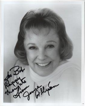 June Allyson (1917-2006) American Actress