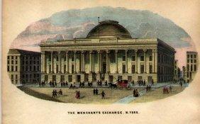 Merchants Exchange, N. York By Charles Magnus