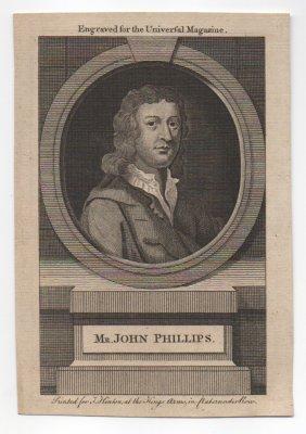 John Philips (1676-1709) English Poet
