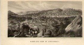 View Of Cincinnati By Charles Magnus