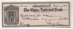 Thomas Jones Pence (1873-1916) American Newspaperman