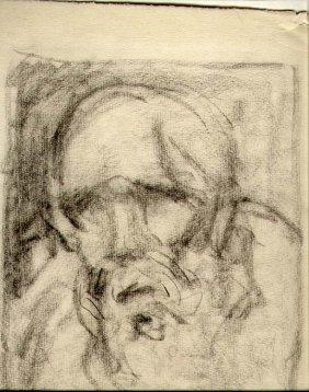Drawing By Albert Sterner