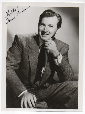 Herb Shriner (1918-1970) American Humorist