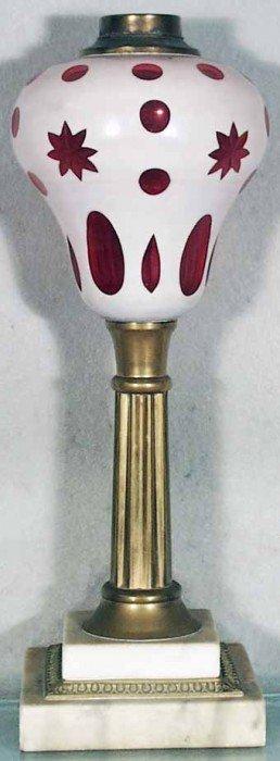 SANDWICH OIL LAMP