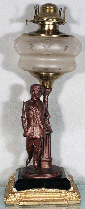 GENTLEMAN SKATER OIL LAMP