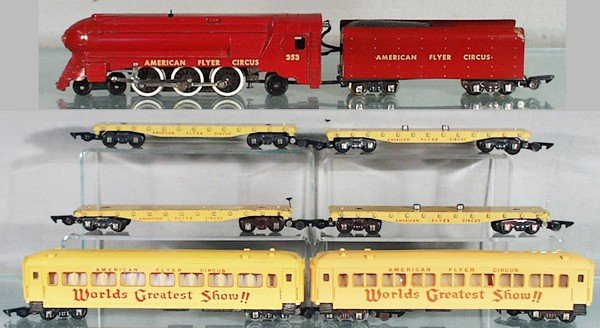 American flyer circus train set for sale malaysia