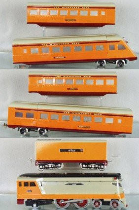 DANIELS HIAWATHA TRAIN SET