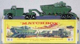 MATCHBOX M3A2 TANK TRANSPORTER