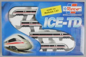 ROCO 63030 ICE-TD TRAIN SET