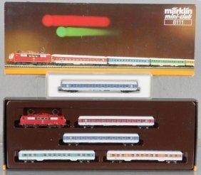 MARKLIN MINI-CLUB GERMAN TRAIN SET
