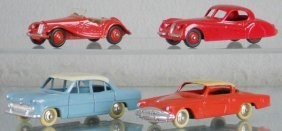 4 DINKY VEHICLES